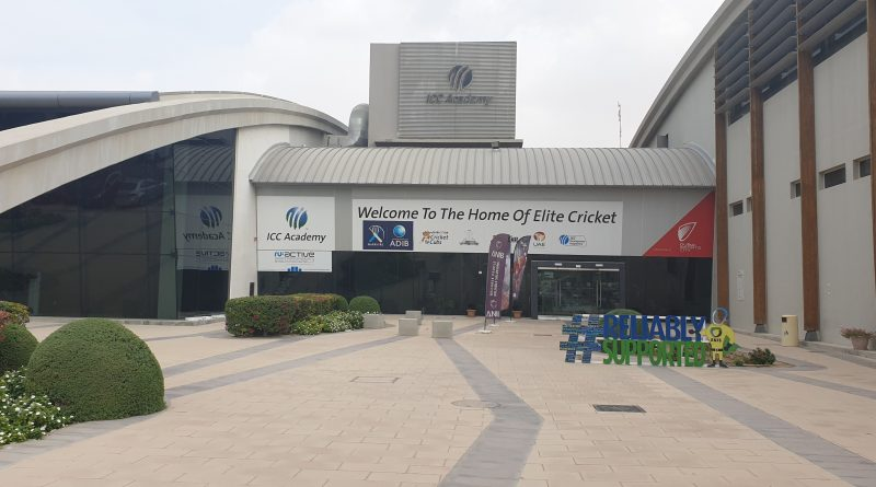 ICC cricket Academy entrance