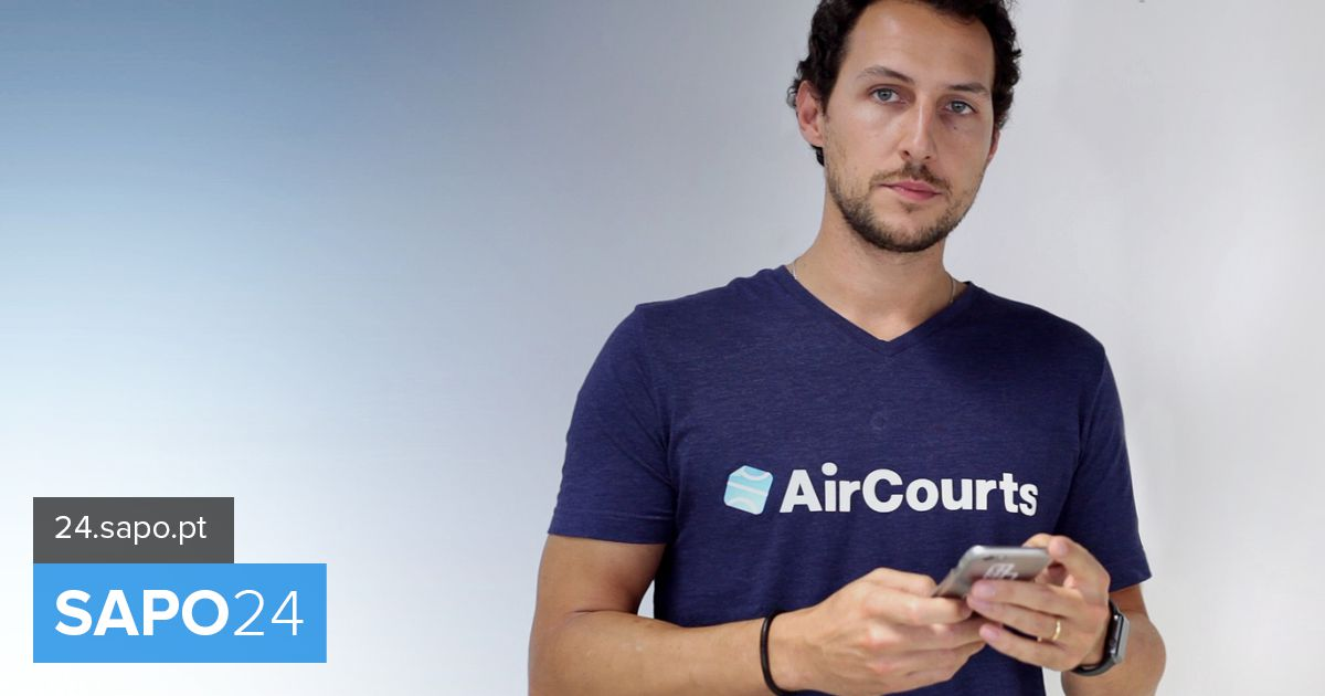 Andre Duarte founder of AirCourts