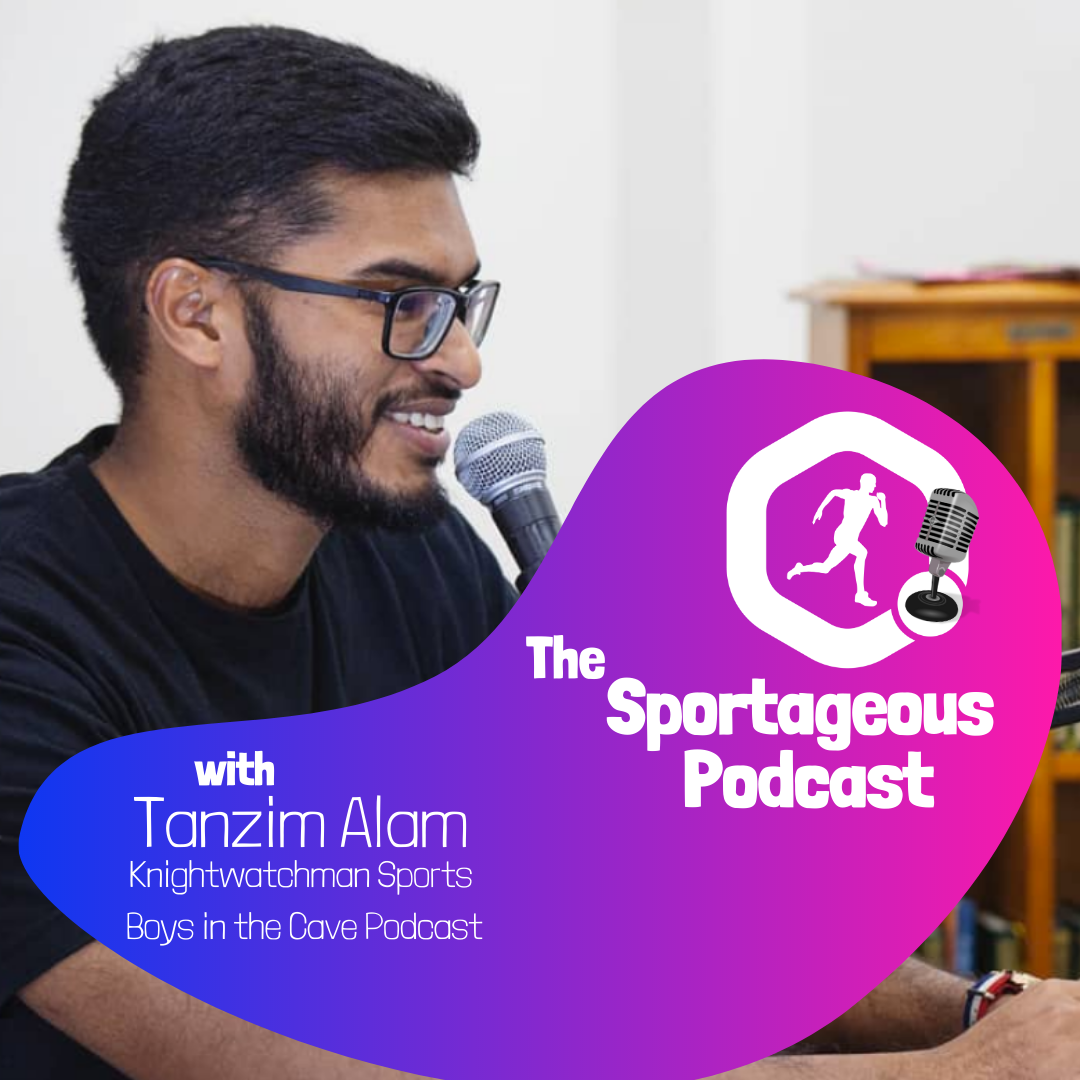 Logo of Sportageous Podcast with Tanzim Alam on Bangladesh Cricket