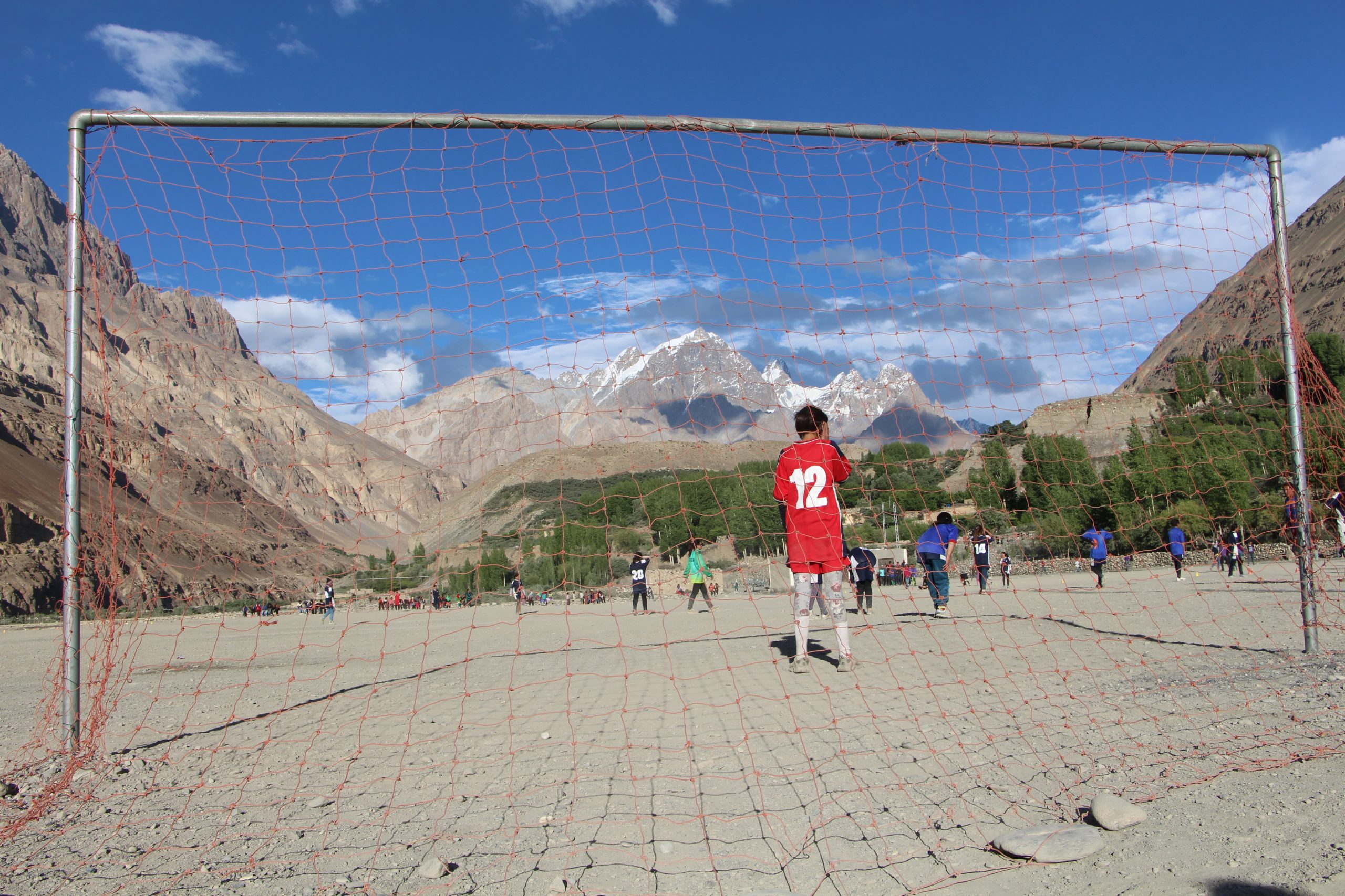 Al Shams Women's FC playing in shimsal valley in Pakistan