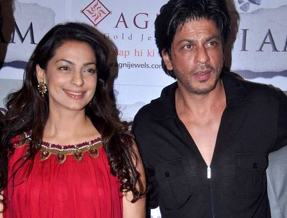 shahrukh khan and juhi chawwa