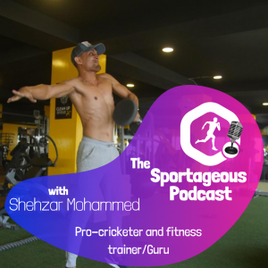 Shehzar Mohammad Pro Cricketer and Fitness Trainer