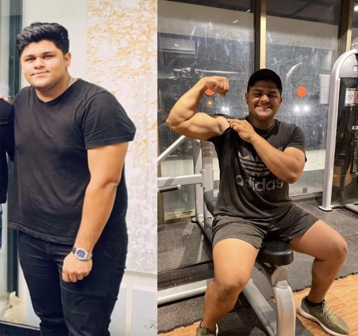 The transformation of Azam Khan who lost a lot of weight in a short period of time