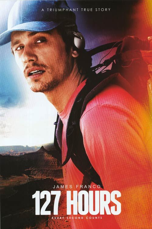 127 hours movie with James Franco