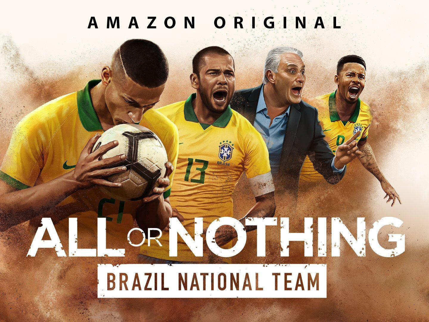 All or Nothing Brazilian National Team: COVID-19 Football