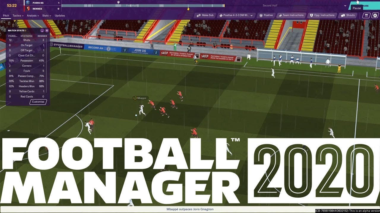 FOOTBALL MANAGER 2020 - COVID-19 GAME