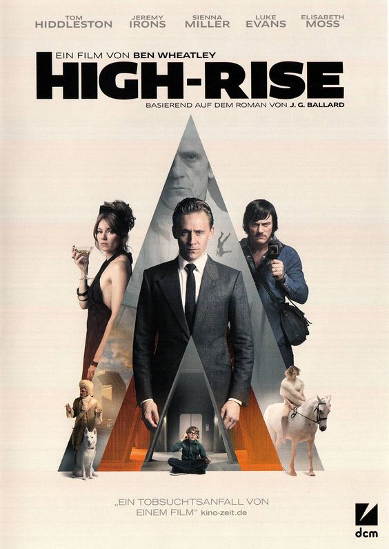 High-Rise movie for COVID-19 with squash scene