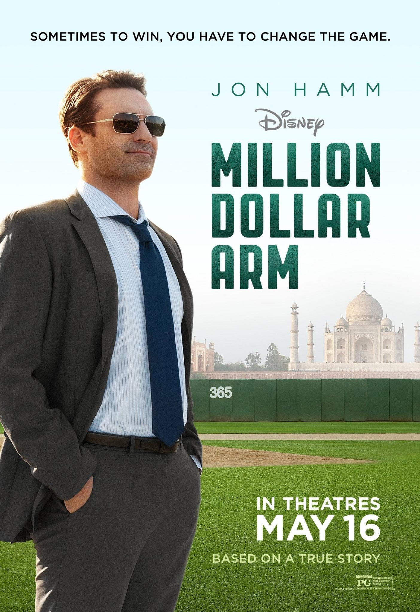 Million Dollar Arm - Cricket Baseball