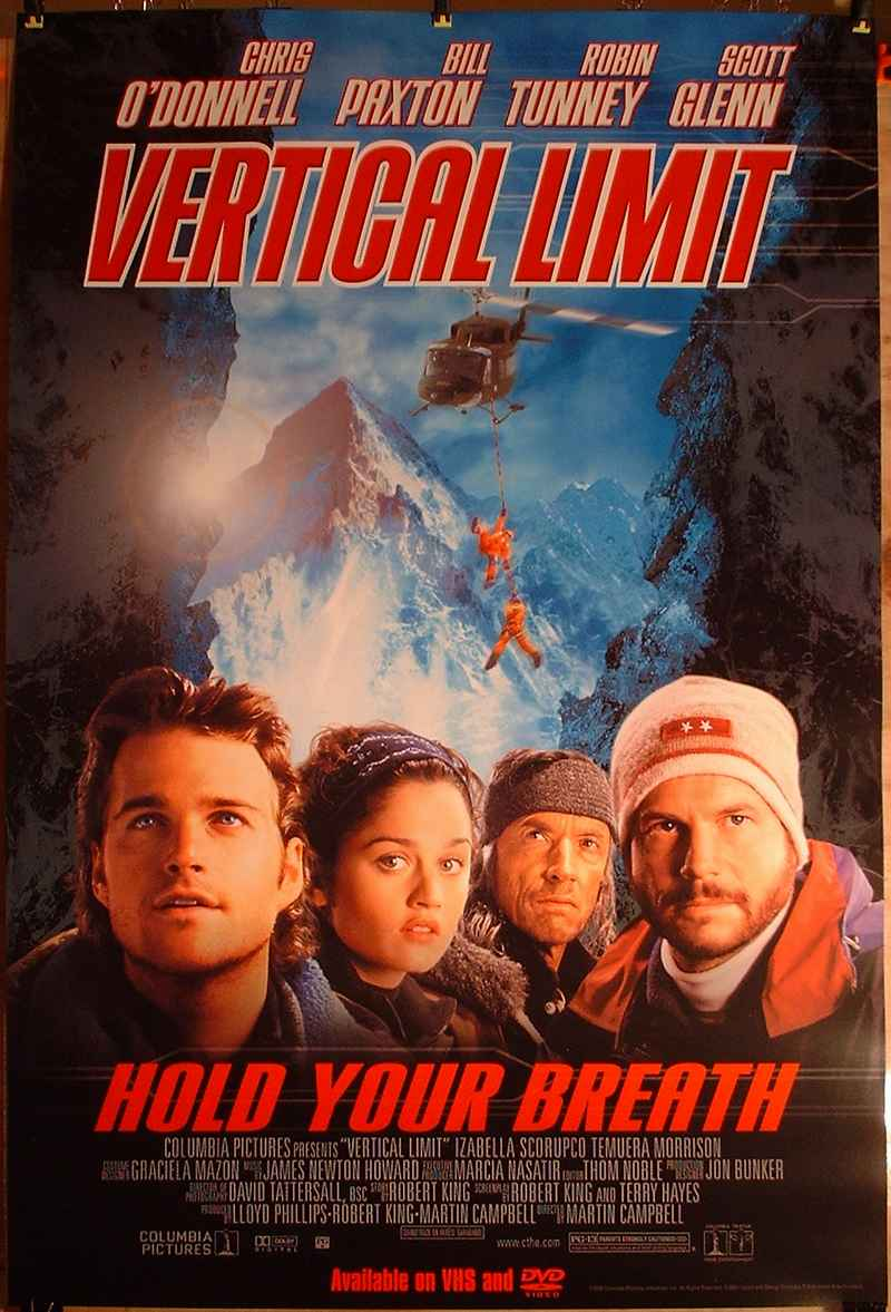 Vertical Limit movie with Chris O'Donnell