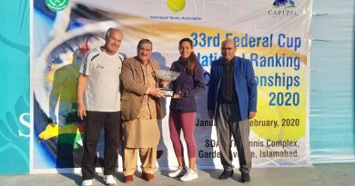 Father & daughter tennis duo – Mahboob Khan and Sarah Mahboob Khan