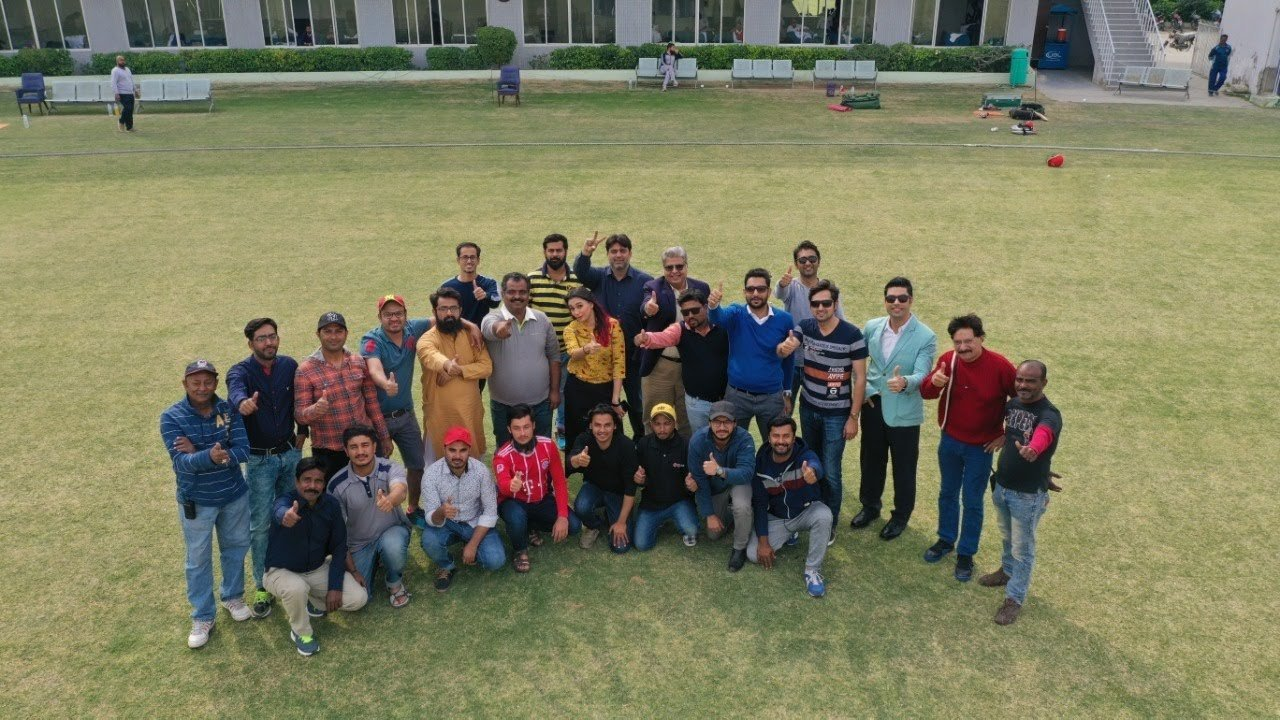 The sportsfever 360 team in Pakistan