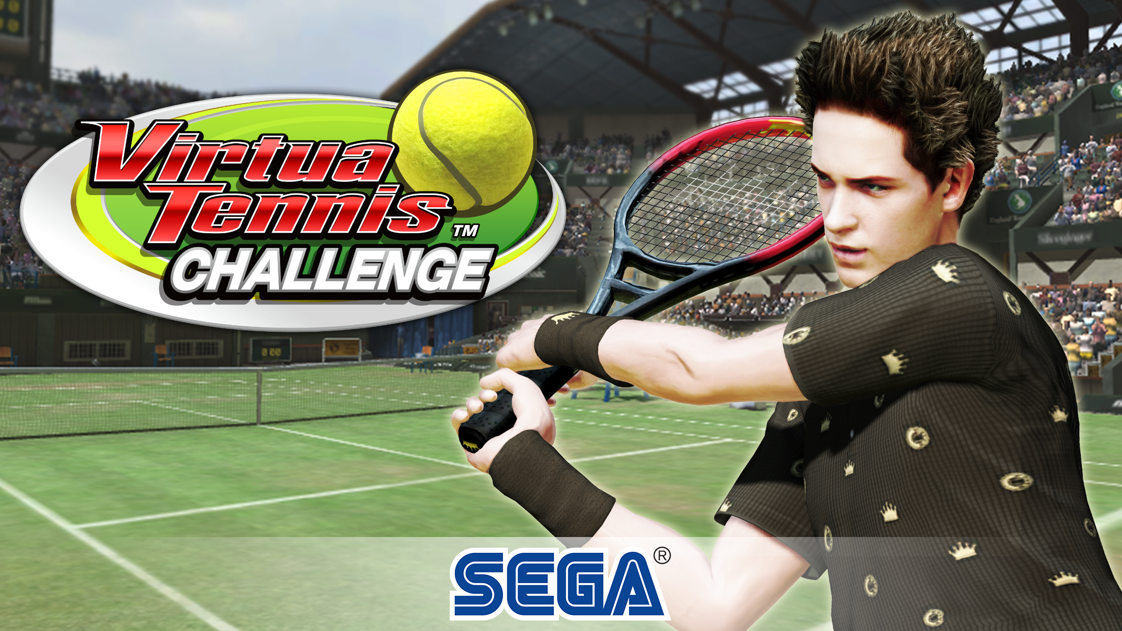 Virtua Tennis game on Sega for Covid-19