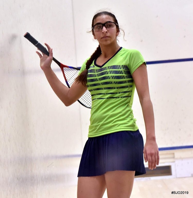 Farida Mohamed Egyptian Squash Player